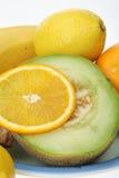 fruits2 płytki Obrazy Royalty Free