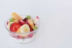 Fruitsalade Royalty-vrije Stock Fotografie