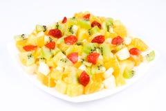 Fruitsalade. Stock Afbeeldingen