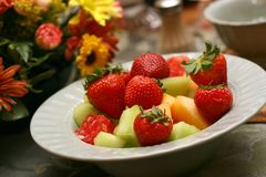 Fruitsalade 9137 Stock Foto