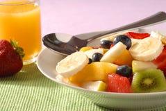 Fruitsalade Royalty-vrije Stock Afbeelding