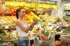 Fruitshop Image stock