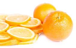 Fruitsinaasappel Stock Foto