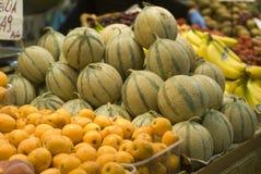 Fruitvertoning stock afbeeldingen