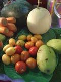 Fruitvoedsel Thailand royalty-vrije stock fotografie