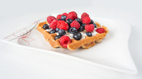 Fruitwafel Stock Afbeeldingen