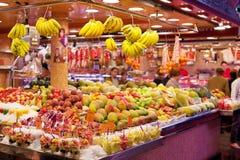 Fruitwinkel Stock Foto's