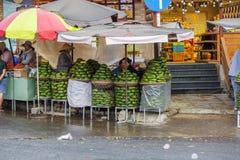 Fruitwinkel, de Markt van DA Lat, Vietnam Stock Afbeeldingen