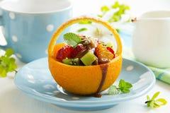 fruity καλοκαίρι σαλάτας Στοκ Εικόνες