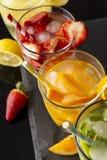 Fruity настоянные воды Стоковое Изображение RF