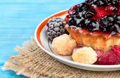 Fruity пирог стоковое фото rf