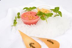 Fruity сливк Стоковое фото RF