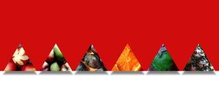 Fruity текстуры внутри 6 форм треугольника иллюстрация штока