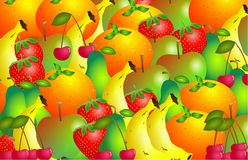 Fruity vector illustration