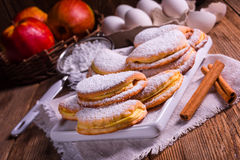 Free Fruity Apple Cinnamon Mostbiscuits Royalty Free Stock Photography - 66296697