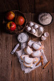 Fruity apple cinnamon mostbiscuits Royalty Free Stock Photography