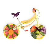 Fruity bicycle. Royalty Free Stock Image