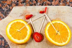 Fruity Bicycle Royalty Free Stock Photo