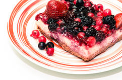 Fruity cake Royalty Free Stock Photo