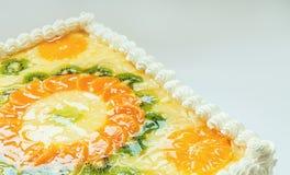 Fruity Cake Royalty Free Stock Photography