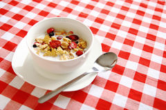 Fruity cereal Stock Images