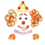 Fruity clown. Royalty Free Stock Photography