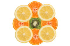 Fruity composition Stock Photo