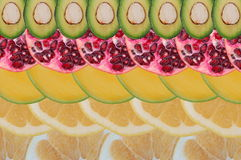 Fruity composition Royalty Free Stock Image
