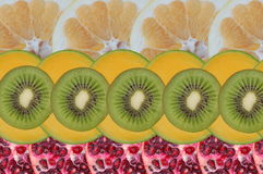 Fruity composition Royalty Free Stock Photo