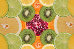 Fruity composition Royalty Free Stock Images