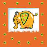 Fruity elephant Royalty Free Stock Photos