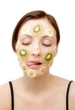 Fruity Face Treatment Stock Photography