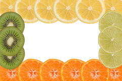 Fruity frame Stock Photography