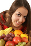 Fruity girl Stock Photos