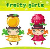 Fruity girls series 5 Stock Image