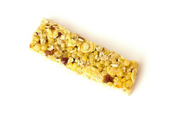 Fruity granola bar Stock Photo