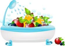 Fruity Hygiene Stock Photography