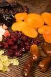 Fruity ingredients Royalty Free Stock Photography