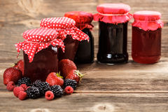 Fruity jam Stock Images