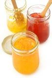 Fruity jam Stock Photo