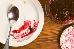 Fruity jam Stock Photography