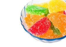 Fruity jujubes Stock Photography