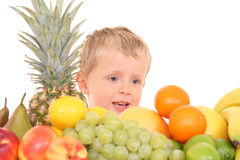 Free Fruity Kid Stock Photo - 3143420