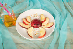 Fruity kid dessert Royalty Free Stock Image