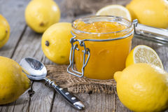 Fruity Lemon Jam Royalty Free Stock Images