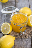 Fruity Lemon Jam Stock Photos