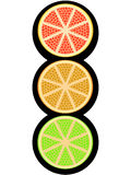 Fruity light signal Stock Photo
