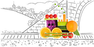 Fruity loco. Royalty Free Stock Photos