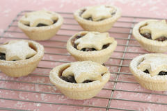 Fruity mince pies Stock Photos