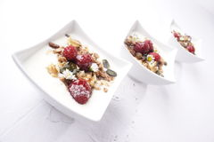 Fruity muesli Royalty Free Stock Photos